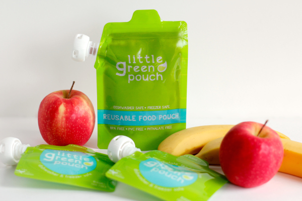 Little Green Pouch Reusable Food Pouch