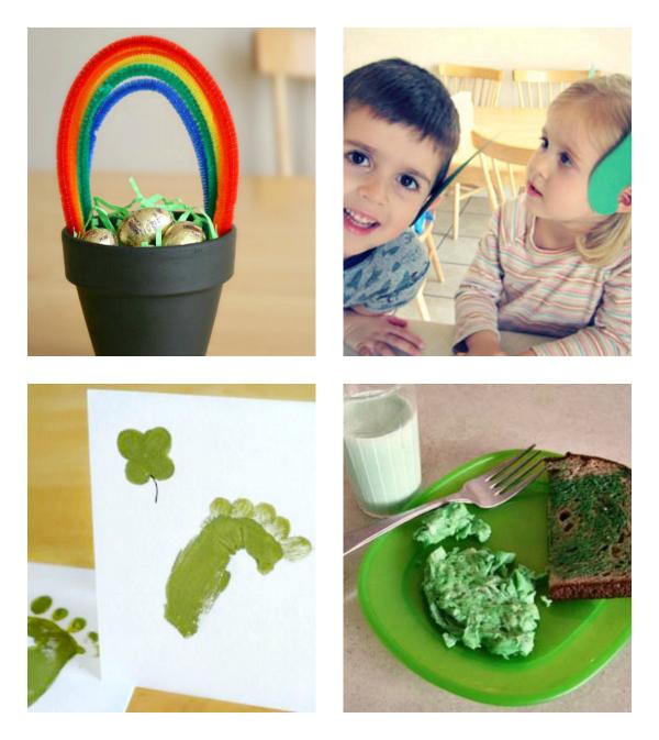 Little Leprechaun Crafts for Kids