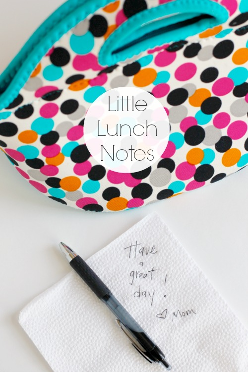 Little Love Notes for Kids Lunch