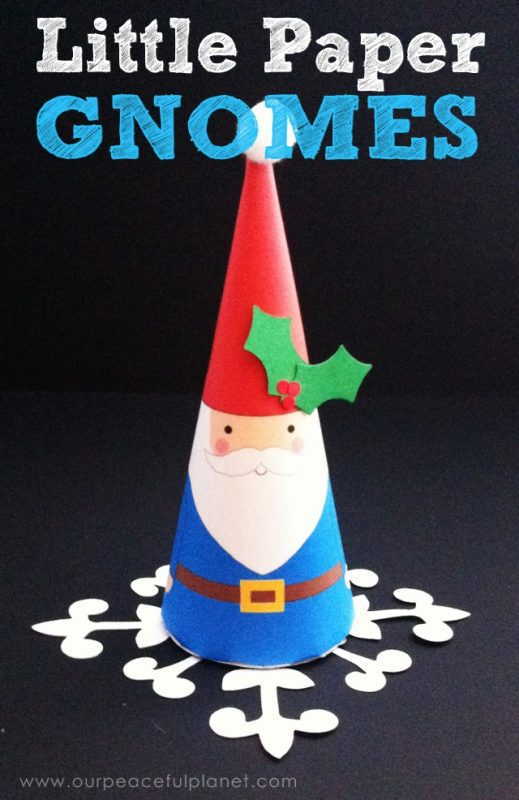 Little Paper Gnomes
