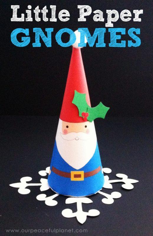 Little Paper Gnomes