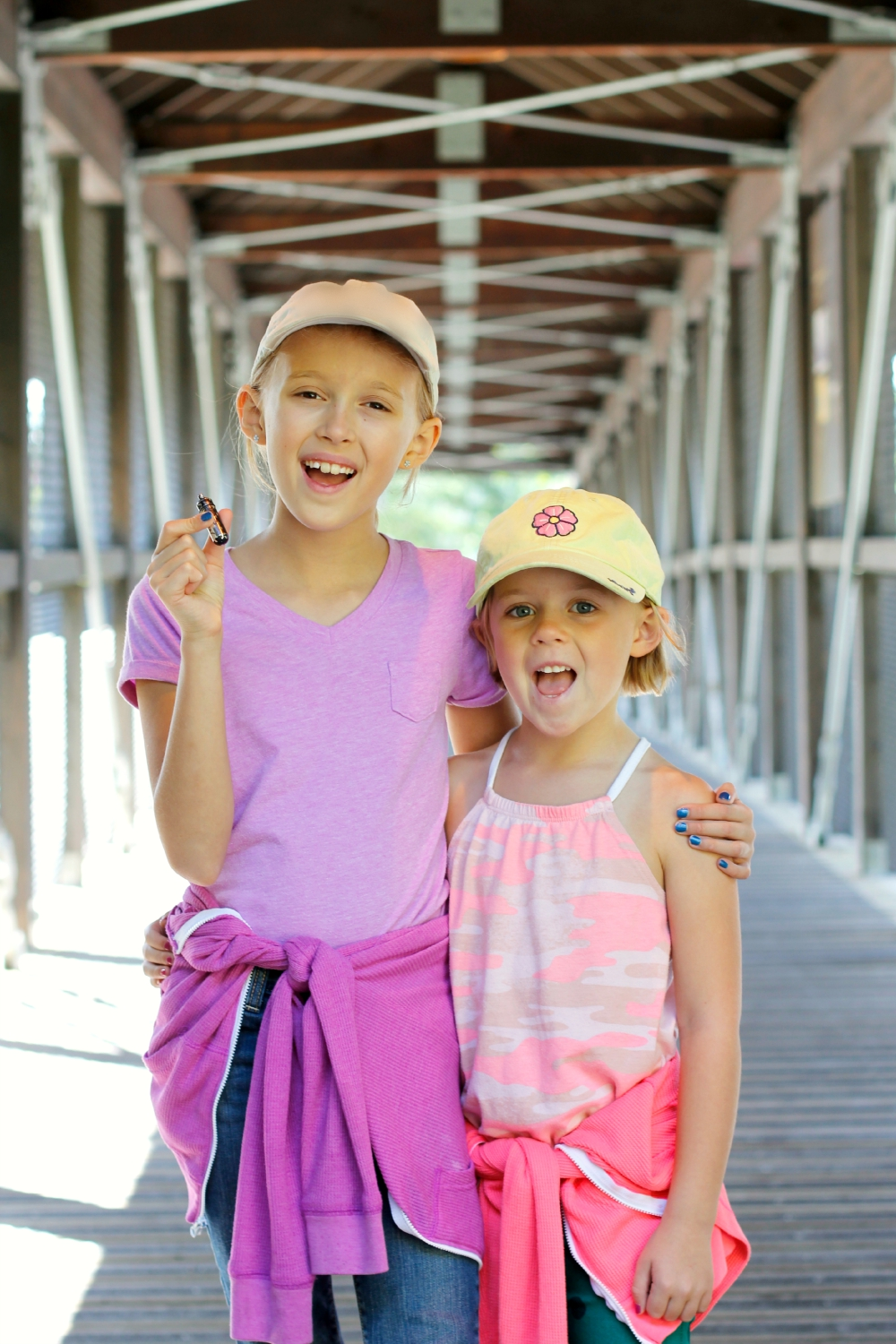Looking for Geocaching Treasure with Kids