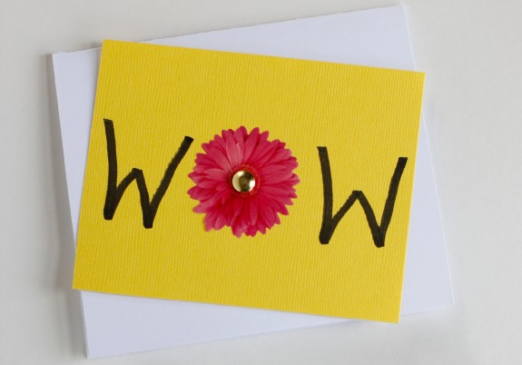 MOM WOW Flip Card for Mother's Day
