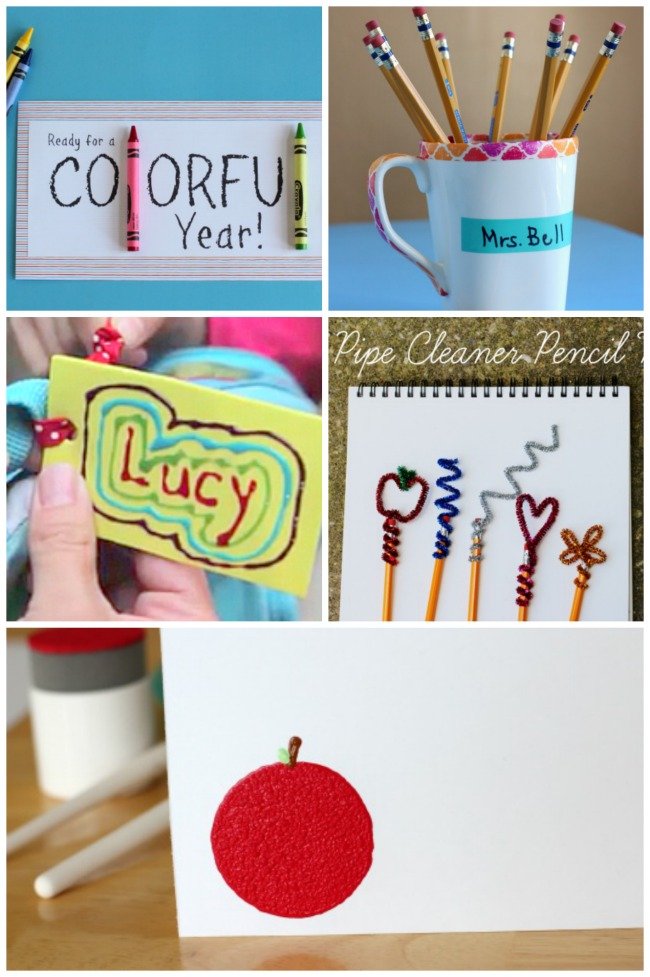 15 Creative Back to School Crafts for Teacher | Make and Takes