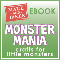 Make and Takes Kid Crafty Monster eBook