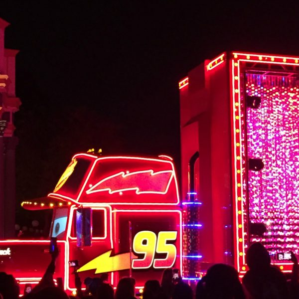 Mack Truck Pixar Paint the Night Parade