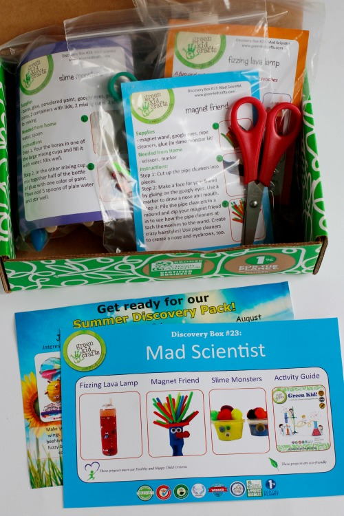 Mad Scientist Green Kids Craft Kit