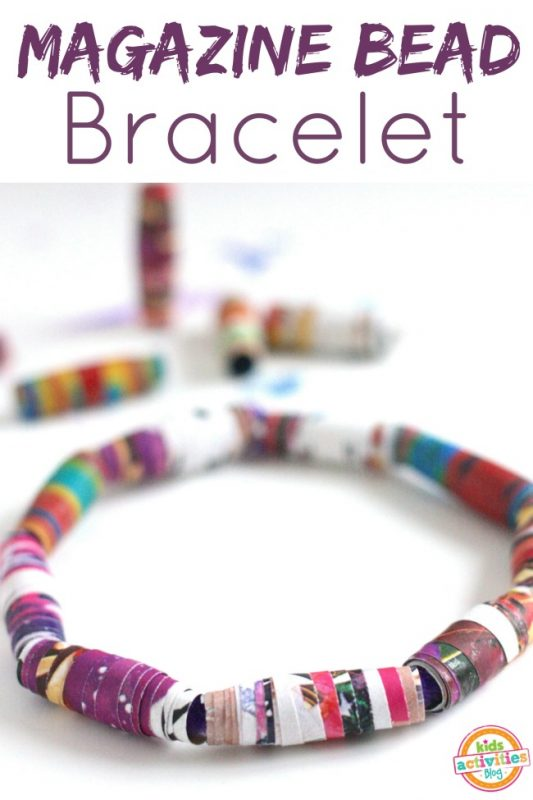 DIY Magazine Bracelets