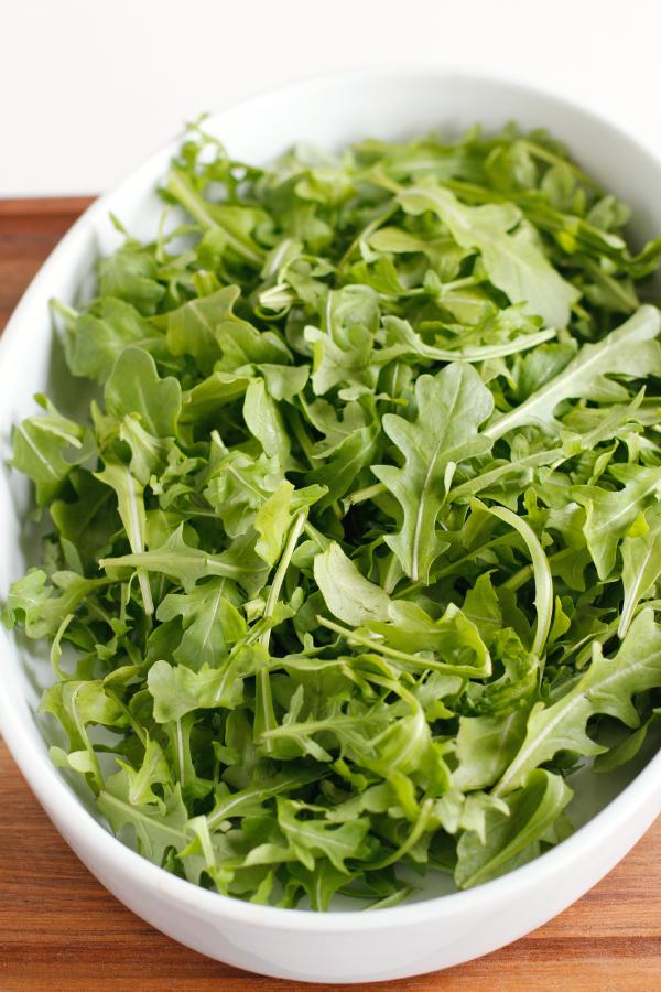 Make Arugula Salad with Bacon Vinaigrette