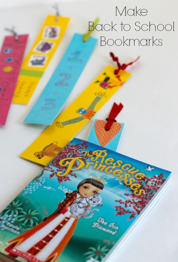 Make Back to School Bookmarks for a Teacher Gift