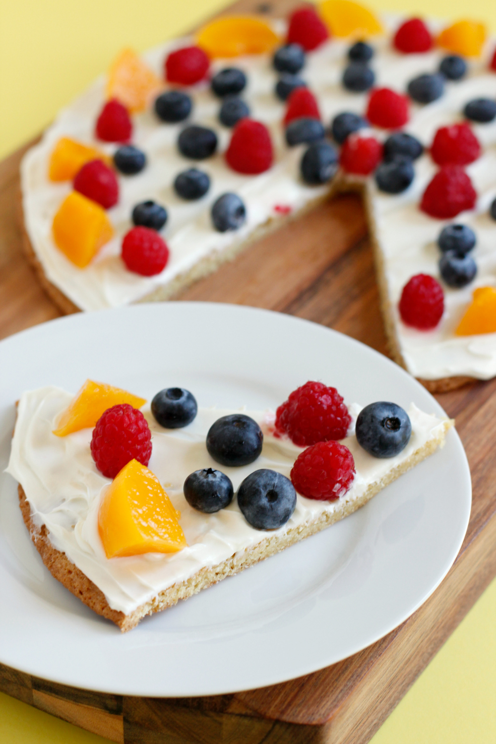 Make Cake Mix Fruit Pizza