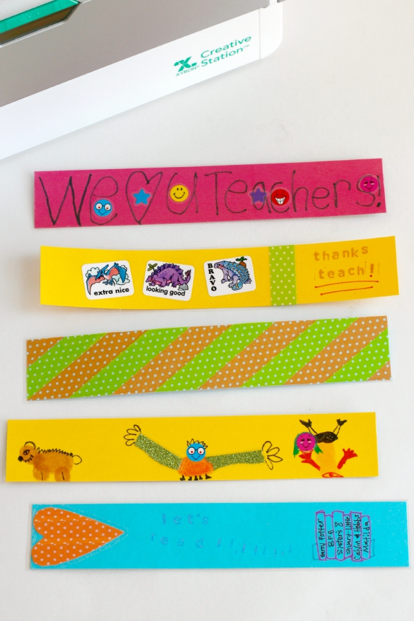 Make DIY Bookmarks for a Teacher Gift