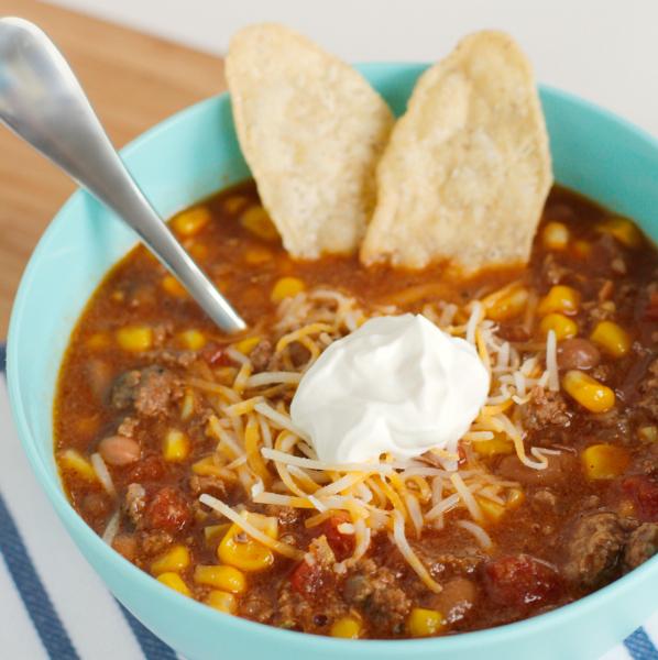 Make Easy Taco Soup for Dinner