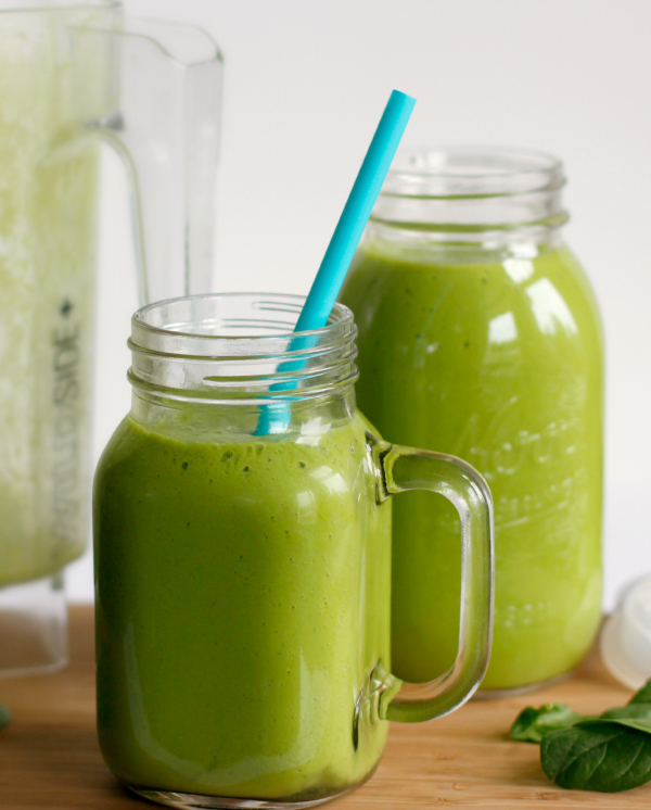 Make Green Smoothies for the Whole Family