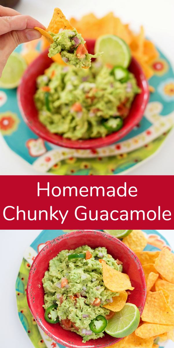 Make Homemade Chunky Guacamole