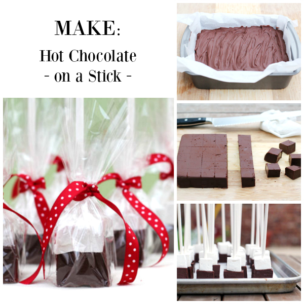 Make Hot Chocolate on a Stick