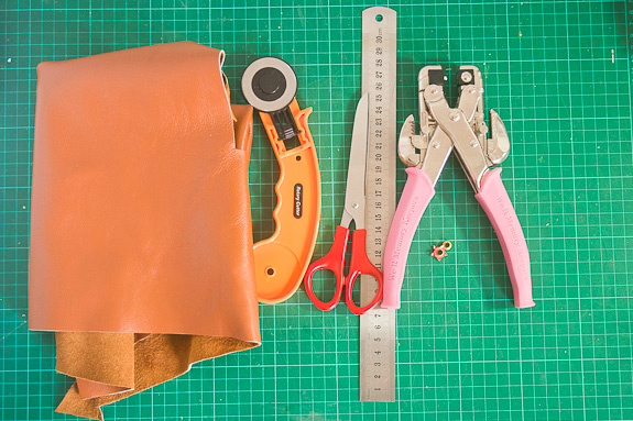 Make Leather Bookmarks Supplies