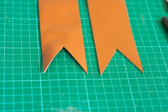 Make Leather Bookmarks for a Father's Day Gift by Francine Clouden-5