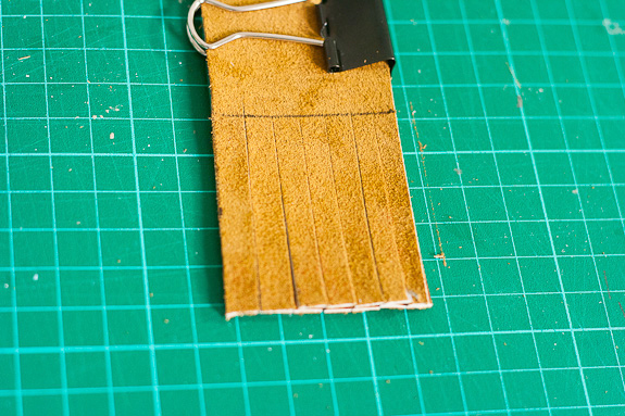 Make Leather Bookmarks for a Father's Day Gift by Francine Clouden-6
