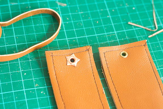 Make Leather Bookmarks for a Father's Day Gift by Francine Clouden-8