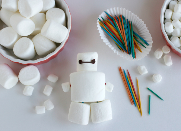 Make Marshmallow Baymax Big Hero 6 Birthday Party