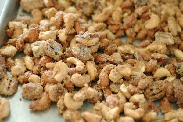 Make Orange Spiced Nuts