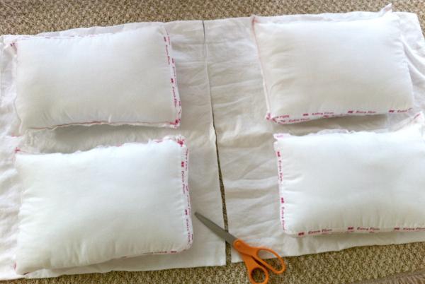 Make Pillow Cases for Mini Sleeping Bag Pillows