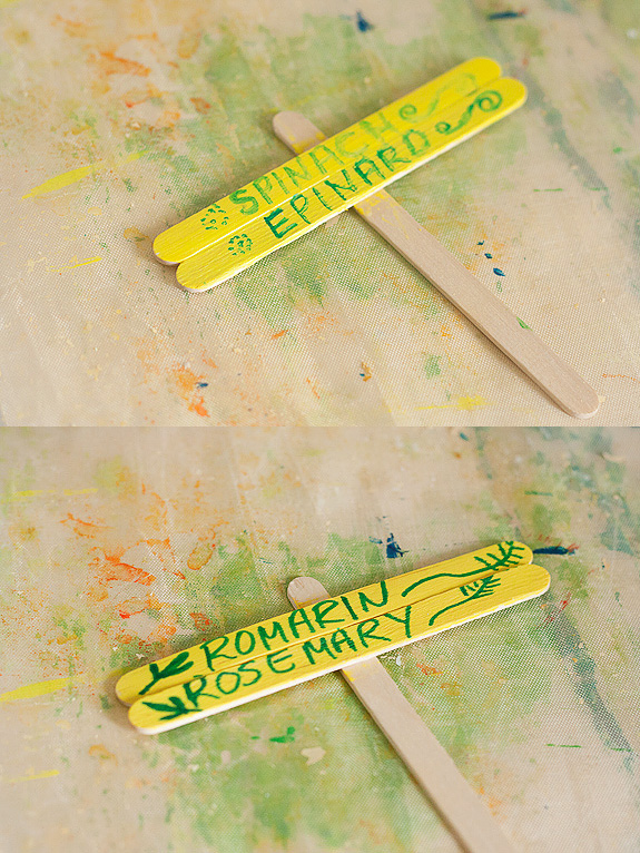 Make Plant Markers From Popsicle Craft Sticks Make And Takes