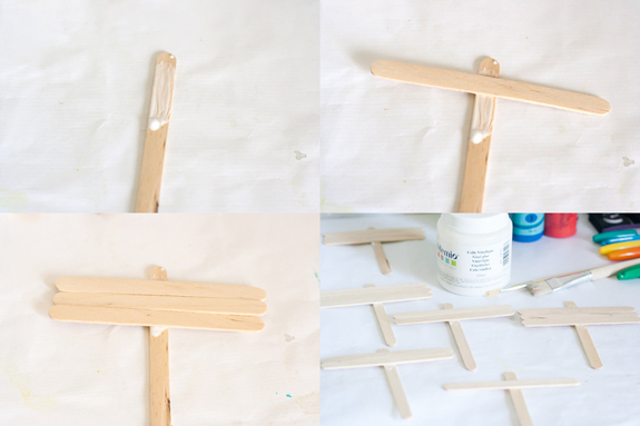Make Plant Markers from Popsicle Sticks by Francine Clouden at Make & Takes- Make Markers