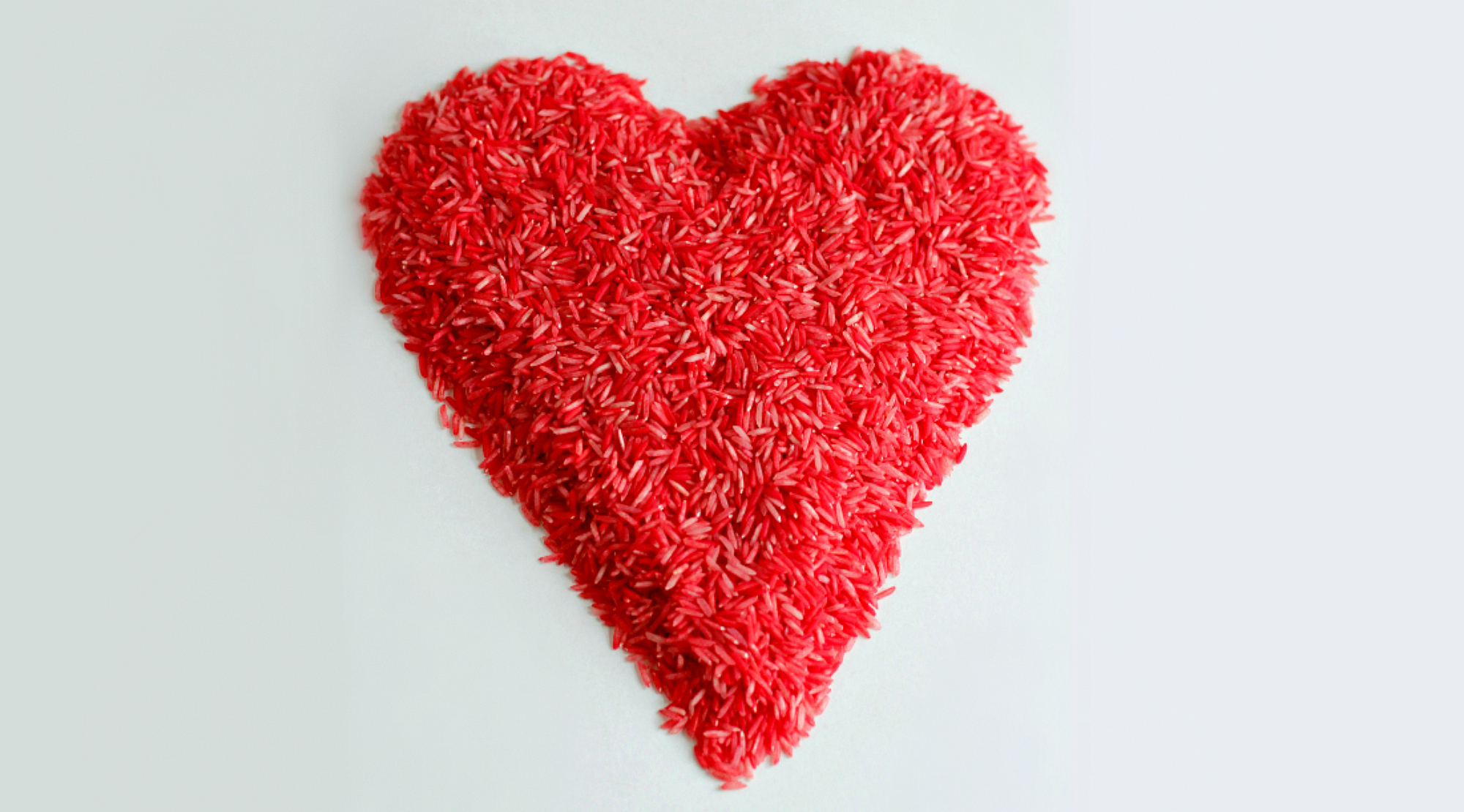 Make Red Colored Rice for Valentines Day