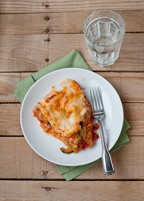 Slow-Cooker Roasted Vegetable Lasagna Recipe