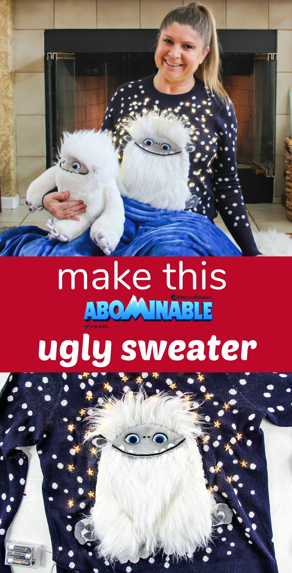 Make This Abominable Movie Ugly Sweater