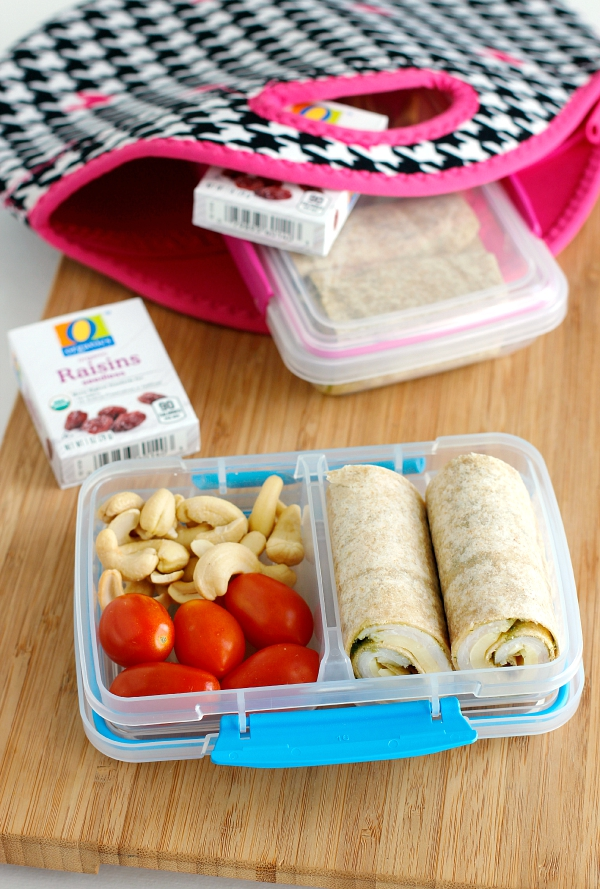 Make Turkey Pesto Roll-Ups for your School Lunch Box
