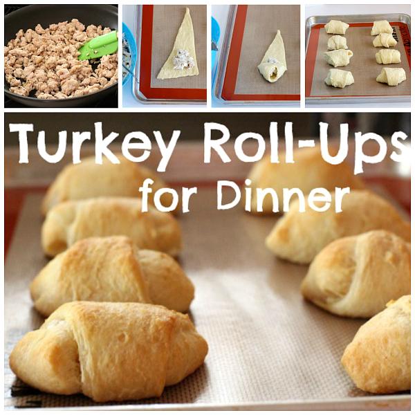 Make Turkey Roll-ups for Dinner