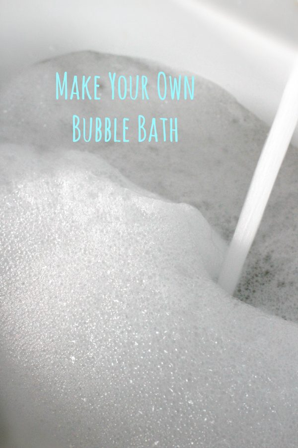 Make Your Own Bubble Bath