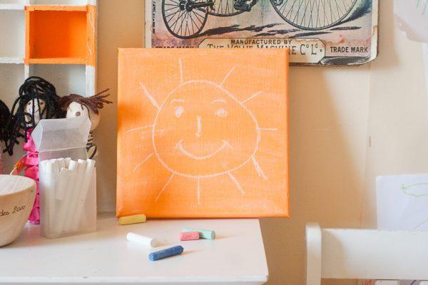 Chalkboard Canvas Sun