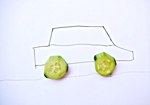 Make a Cucumber Car