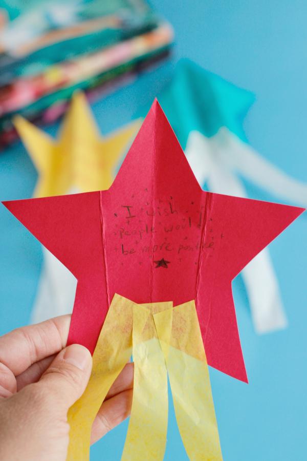 Make a DIY Wish Paper Airplane