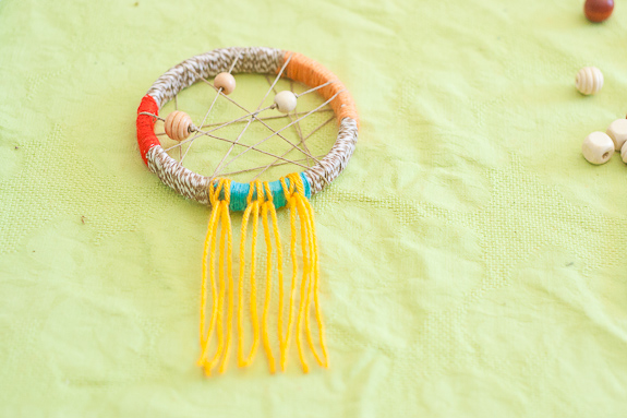 Make a Dreamcatcher by Francine Clouden for Make and Takes-10
