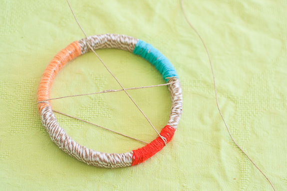 Make a Dreamcatcher by Francine Clouden for Make and Takes-6