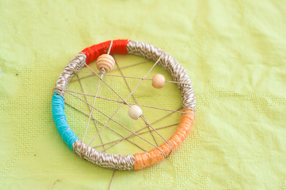 Make a Dreamcatcher by Francine Clouden for Make and Takes-8