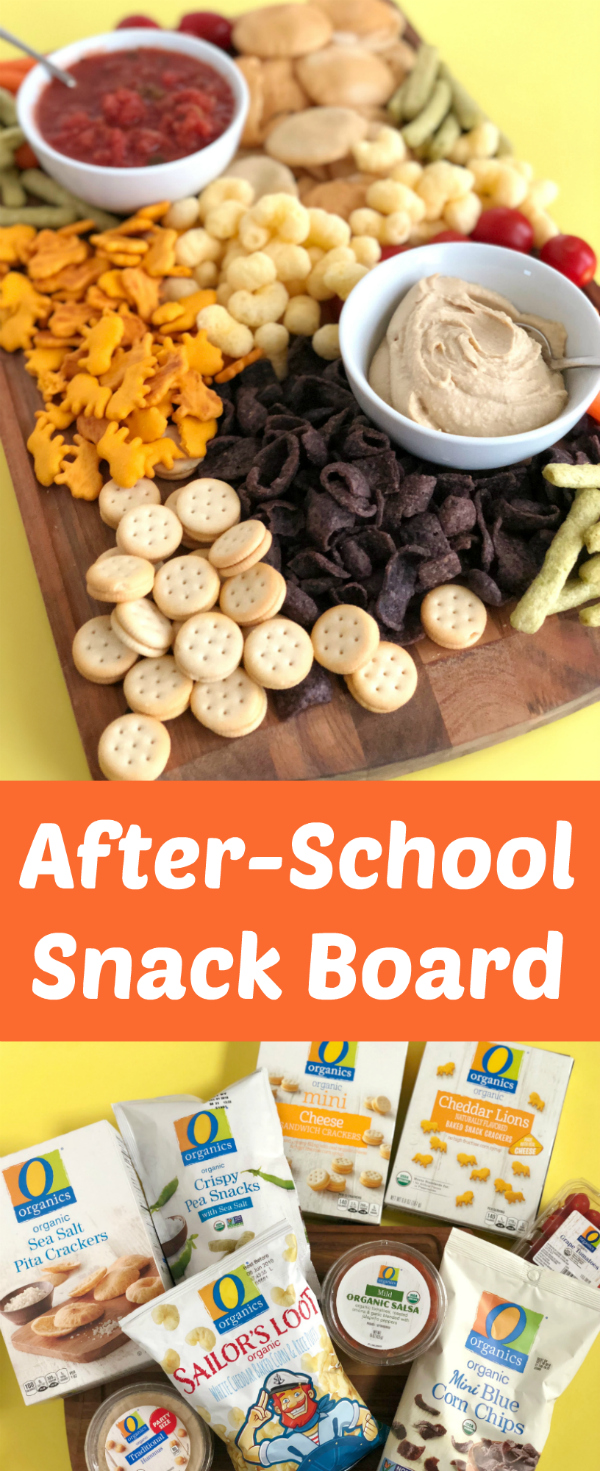 Keeping Snacking Fun With An After School Snack Board Make And Takes