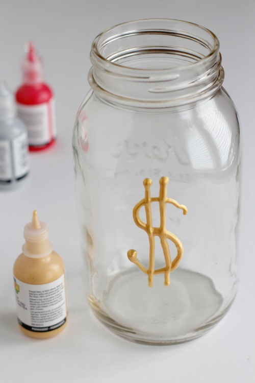 Make a Mason Jar Money Bank