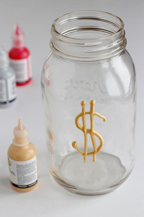 Make a Mason Jar Money Bank