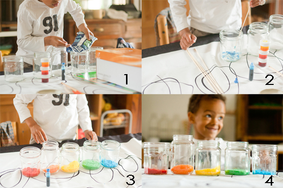 Make a Salt Glitter Shape Garland with Kids by Francine Clouden Part 1