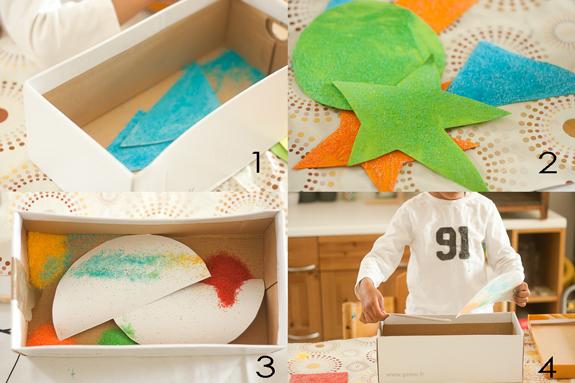 Make a Salt Glitter Shape Garland with Kids by Francine Clouden Part 4