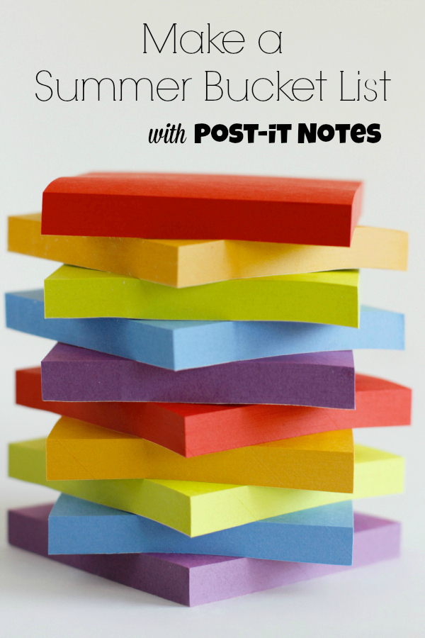 Make a Summer Bucket List with Post-it Brand
