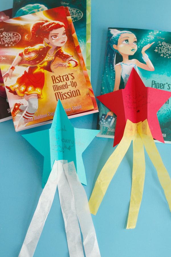 Make a Wish Paper Airplane Kids Craft