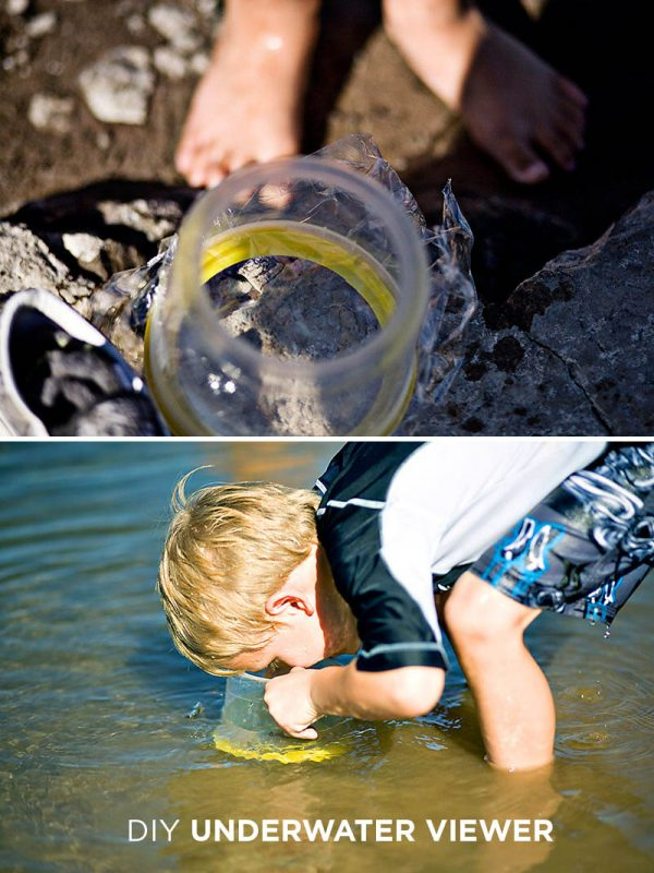 Make an Underwater Viewer for Kids