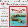 Make and Takes Book Giveaway on Instagram @makeandtakes